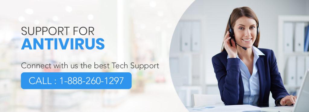 Antivirus Support number 1-888-260-1297