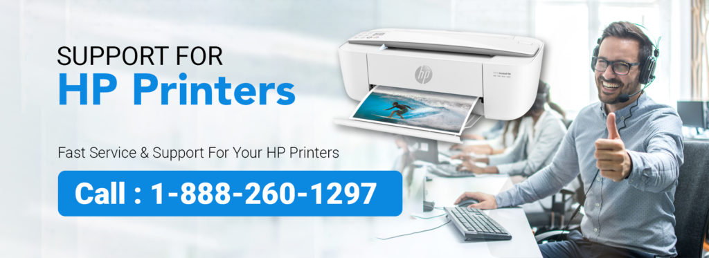 HP Printer Support 1-888-260-1297