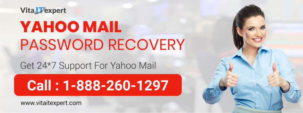 Yahoo mail password recovery |  Helpline 1-888-260-1297