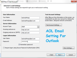 AOL-mail-Outlook-Settings