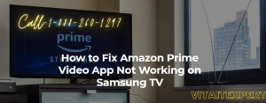 amazon prime video not working on tv